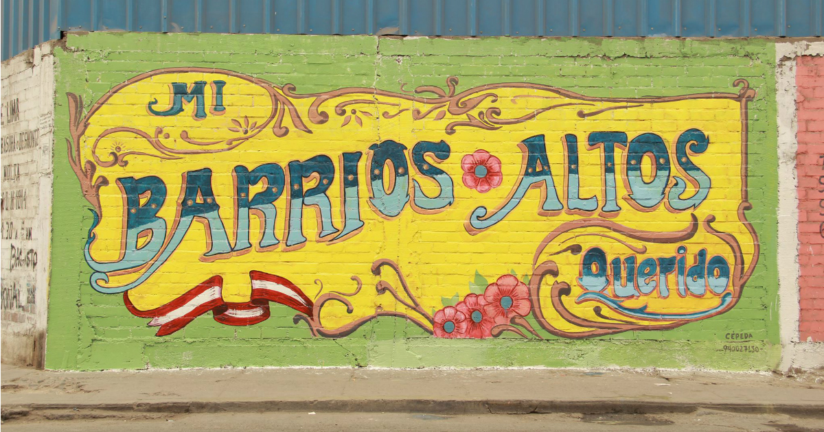 «Mi Barrios Altos querido» ya está disponible en Amazon Prime Video
